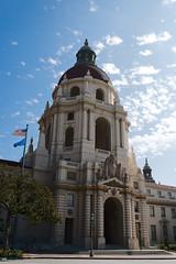 Pasadena City Hall (Lorne Thomas) Tags: california architecture clouds losangeles nikon cityhall pasadena nikond800e sigma35mmf14dg