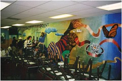 EVT_P_01207 (NSCDS Archives) Tags: nscds events evtfolder23 mural art painting cafeteria oneworldunited