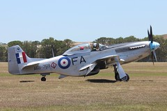 P-51D Mustang A68-110 (VH-MFT) (CanvasWings) Tags: world 2 plane vintage airplane war fighter aviation australian andrew aeroplane ww2 carter mustang society warbird p51 the p51d mustand a68 tavas caboolture avgeek vhmft canvaswings a68110
