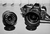 Nikon F-501 and Sigma Lenses (Minolta X300s, AgfaPhoto APX 100) (baumbaTz) Tags: blackandwhite bw film monochrome analog germany deutschland 50mm iso100 stand blackwhite nikon minolta flash sigma ishootfilm brest apx100 epson sw 100 analogue monochrom grayscale agfa blitz schwarzweiss apx analogphotography x300 stade metz lenses greyscale 1100 f501 cameraporn niedersachsen lowersaxony agfaapx100 nikonf501 filmphotography harsefeld v500 semistand minoltax300s adox adonal 2013 analoguephotography agfaphoto camporn x300s istillshootfilm epsonv500 agfaphotoapx100 adoxadonal filmphotographyproject believeinfilm wohlerst