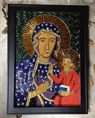 Our Lady of Czestochowa (Elsieland Mosaics) Tags: our glass lady tile corpuschristi mosaics christi corpus elsie czestochowa mosaicart gaertner elsieland elsiegaertner elsielandmosaics elsiegaertnermosaicscorpuschristi