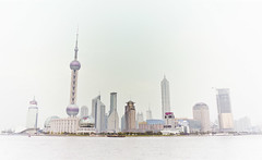 . Shanghai '02 . (3amfromkyoto) Tags: china 2002 river shanghai pudong huangpu orientalpearltower lujiazui 3amfromkyoto flickr:user=3amfromkyoto