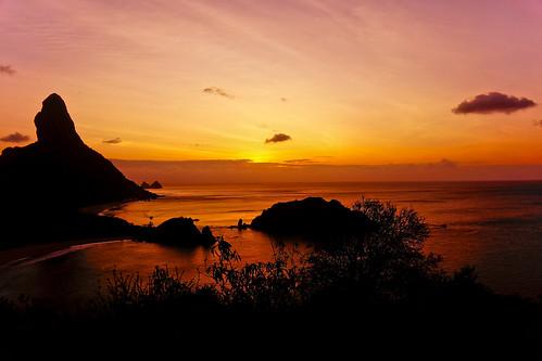 Sunset Forte dos Remédios - Fernando de Noronha/PE