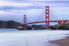 Mist At The Gate (Mike_Valera) Tags: sanfrancisco sunset canon goldengatebridge hdr 6d indurotripod induroct214