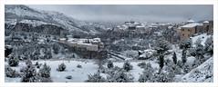 Cuenca nevada (miguelangelortega) Tags: city winter urban snow blanco colors landscape nieve ciudad paisaje invierno colourful frío ltytr2 ltytr1 ltytr3