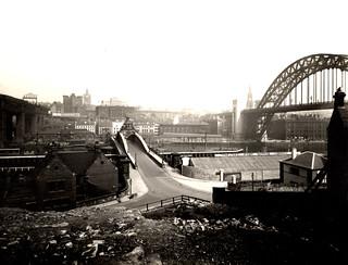 010174:Swing Bridge Newcastle upon Tyne 1937