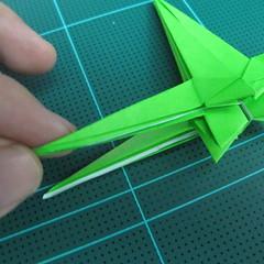 วิธีพับกระดาษเป็นจรวด X-WING สตาร์วอร์ (Origami X-WING) 037