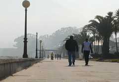 Perfect day to walk on the (wild) side... (gerrygoal2008) Tags: ocean sea people way pier seaside dock spain walk jetty galicia wharf boardwalk passage pleasure jete concordians