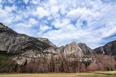 Yosemite (JiaSiDingLin) Tags: california park trees sky usa mountains landscape waterfall rocks national valley yosemite wilderness