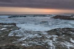 when waves meet rocks (TLP images) Tags: beach sunrise waves illawarra portkembla waveporn sunriseshoot facebookcomimagestlp imagestlp
