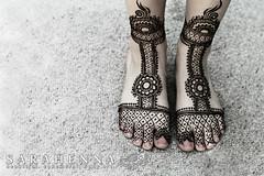 Sandals-style henna for feet (SARAHENNA - Seattle) Tags: seattle wedding bride bridal henna kirkland mehndi heena mehandi hennaartist bridalmehndi sarahenna