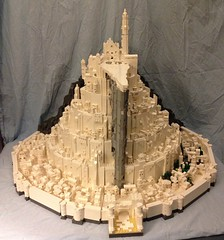 "Final build of epic microscale Minas Tirith for Brickcon 2014 • <a style=""font-size:0.8em;"" href=""https://www.flickr.com/photos/75476563@N08/14246993689/"" target=""_blank"">View on Flickr</a>"