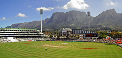 Newlands Stadium (brentflynn76) Tags: africa panorama mountain sport landscape southafrica photo stadium capetown cricket newlands tablemountain