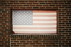 Old Glory in Eastie (mkarolian) Tags: old city brick boston living glory flag gritty american distressed bric vsco