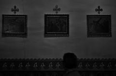 Untitled (ajkpix) Tags: california street urban blackandwhite bw blackwhite catholic cross crosses icon orangecounty missionsanjuancapistrano sanjuancapistrano blackwhitephotos padrejuniperoserra scattidistrada giovannidacapistrano fatherserraschurch founded1776 catholicsfranciscanorder