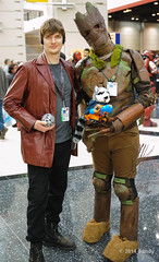 Hot commodities (ddindy) Tags: chicago costume illinois cosplay costuming groot c2e2 starlord guardiansofthegalaxy rocketraccoon peterquill