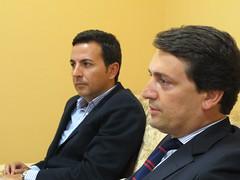 Marco António Costa em reunião com PSD de Guimarães