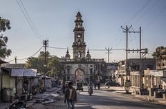 dramatic walking (Tin-Tin Azure) Tags: mahabat maqbara palace mausoleum bahaduddinbhai hasainbhai junagadh gujarat india nawab 18th century chitkana chowk tomb baharuddin bhar ruin detail architecture
