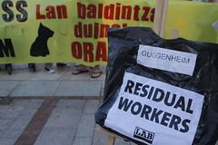 _MG_6470 (txengmeng) Tags: guggenheim museum museoa bilbao bilbo baskenland streik greba huelga