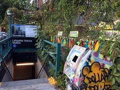 MTA Subway - Lafayette Ave in Brroklyn (Fuyuhiko) Tags: mta subway lafayette ave brroklyn   new york ny    us