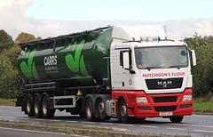 MAN - HUTCHISONS FLOUR Kirkcaldy Fife (scotrailm 63A) Tags: lorries trucks tankers