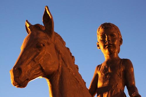Born on a horse
