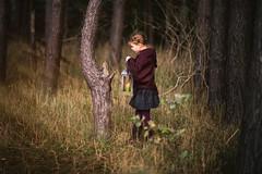 An Enlightened Journey (fehlfarben_bine) Tags: portrait girl forrest nature candlelight nikondf 850mmf14 berlin