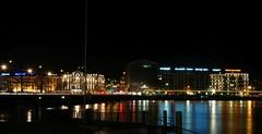 Geneva (Jurek.P) Tags: geneva genewa switzerland szwajcaria night nightcity nightshot lakegeneva bridge lights reflections cityscape city jurekp sonya500
