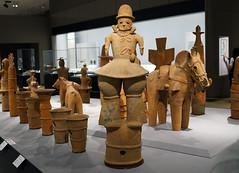 Haniwa figure