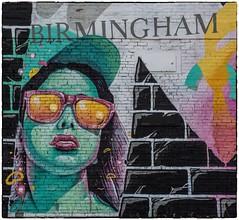 Bienvenue a Birmingham (Andy J Newman) Tags: art streetart graffiti wall wallart birmingham digbeth nikon d500 colorefex urban
