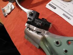 P200E disc brake conversion (Old-Bikes) Tags: vespa px p200e piaggio scooter hydraulic disc brake conversion
