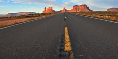 On the road (2) (Starkrusher) Tags: navajo navajonation arizona fourcorners rockformations spectcularscenery highway160