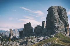 cinque torri (beudii) Tags: cinque torri sdtirol dolomiten alpen alps berge felsen steine rocks mountains mountain landscape herbst fall autumn south tirol italy cortina europe wandern hiking