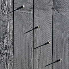 over under sideways down (MyArtistSoul) Tags: ventura ca wood gate four bolts shadows 4x4 rough texture monochrome vertical lines parallel minimal simple abstract urban square 1118