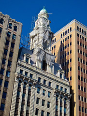 Skyline, Albany, NY (Robby Virus) Tags: albany newyork ny state skyline tall buildings architecture scaffold scaffolding