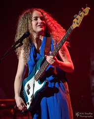 Tal Wilkenfeld @ Triple Door (Kirk Stauffer) Tags: kirk stauffer photographer nikon d5 adorable amazing attractive awesome beautiful beauty charming cute darling fabulous feminine glamour glamorous goddess gorgeous lovable lovely perfect petite precious pretty stunning sweet wonderful young female girl lady woman women live music tour concert show stage gig song sing singer singing vocals vocalist perform musician band lights lighting indie rock long brown hair brunette curly red lips model tall fashion style portrait photo smile smiling playing guitar aussie australia bass