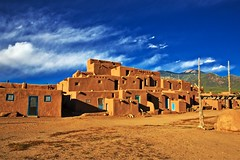 Taos Pueblo New Mexico (Alan Amati) Tags: amati alanamati america american usa us western west southwest sw nm newmexico nativeamerican native pueblo taos taospueblo lateafternoon indian building architecture adobe outdoor outdoors dwelling earth