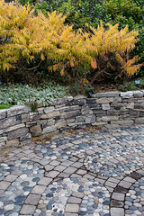Garden wall (billd_48) Tags: me fall nature garden plants hardscape