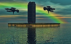 Capital of extraterrestrials. (driver Photographer) Tags: 3d