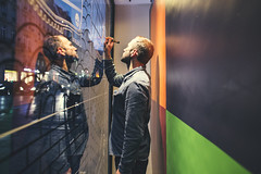 Clement Laurentin (RG Video) Tags: timberland paris store dyo way draw drawing shoes wall clementlaurentin design