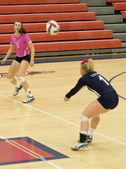 DJT_4953 (David J. Thomas) Tags: sports athletics volleyball women lyoncollege scots hendersonstateuniversity reddies batesville arkansas