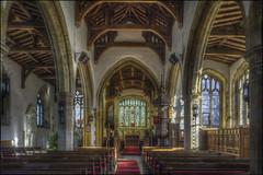 Castle Ashby - Church 3 (Darwinsgift) Tags: castle ashby church northamptonshire architecture hdr photomatix nikkor pce 24mm f35 ed d interior shift lens nikon d810 tripod