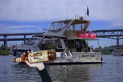Captain Morgan (swong95765) Tags: ships booze rum bottle boat party captain river water