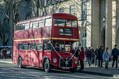 The Wedding Bus (martingrant58) Tags: aec routemaster wedding red bristol london bus