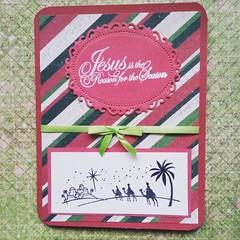 Wisemen Silhouette Greeting Card (janettefuller) Tags: handmade card christmascard christmas christian silhouette stamped wiseman papercrafts cardmaking art crafts spellbindersdie