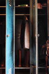l'armadietto del minatore. (LucaBertolotti) Tags: mine miniere oldmine armadio locker minatore work lavoro miner colors montecalamita capoliveri toscana italia italy magnetite ferro minerali vecchiaofficina elba isoladelba