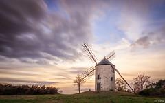 Butte des 5 moulins - St Jacut-les-Pins -56- (f.ray35) Tags: moulin bretagne britany brezh morbihan sunset sunlight hdr pierre nature long exposure filter nd1000 pose longue clouds sky