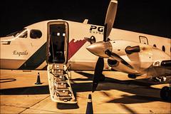Flying the old fashioned way (lunaryuna) Tags: airplane plane aircraft oldfashioned smallcraft tap portugueseairlines nightflighttoremember aviation nightflight travel journey lunaryuna