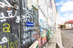 Occupation Rd (davidthegray) Tags: territories palestine building terrorism graffiti israel bethlehem prison wall occupation