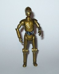 C-3PO star wars the clone wars no.16 blue and white packaging basic action figures 2008 wave 3 hasbro 2 c (tjparkside) Tags: c3po c 3po droid droids protocol translator tcw clone wars star hasbro basic action figure figures blue white packaging card 2008 series 3 number 16 no no16 glowing eyes padme amidala rebel rebels